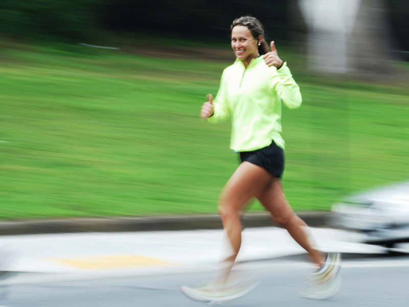 http://woman%20running%20giving%20thumbs%20up